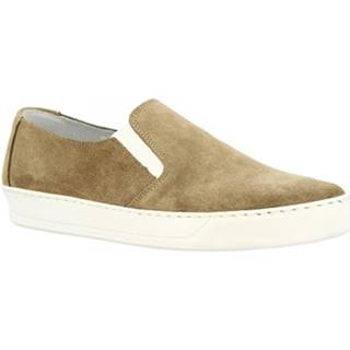 Slip-on Leonardo Shoes  M10 CAMOSCIO TORTORA