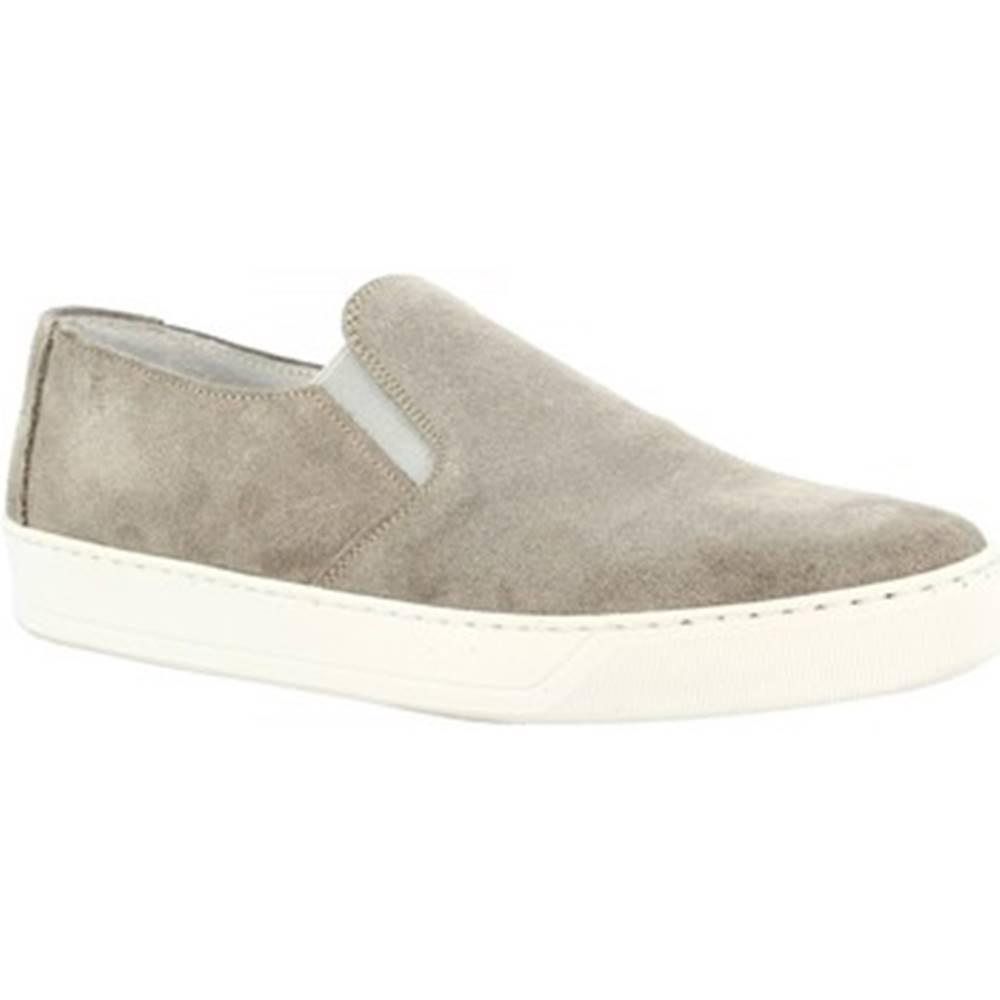 Leonardo Shoes Slip-on Leonardo Shoes  M10 CAMOSCIO GRIGIO