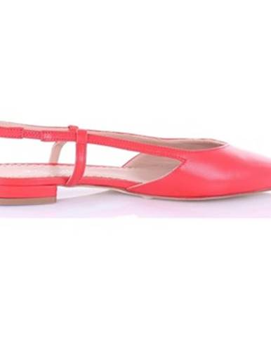 Červené sandále The Seller