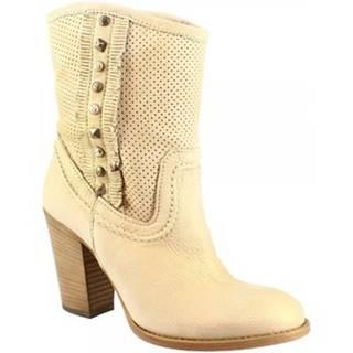 Čižmičky Leonardo Shoes  7808 GOLD SABBIA
