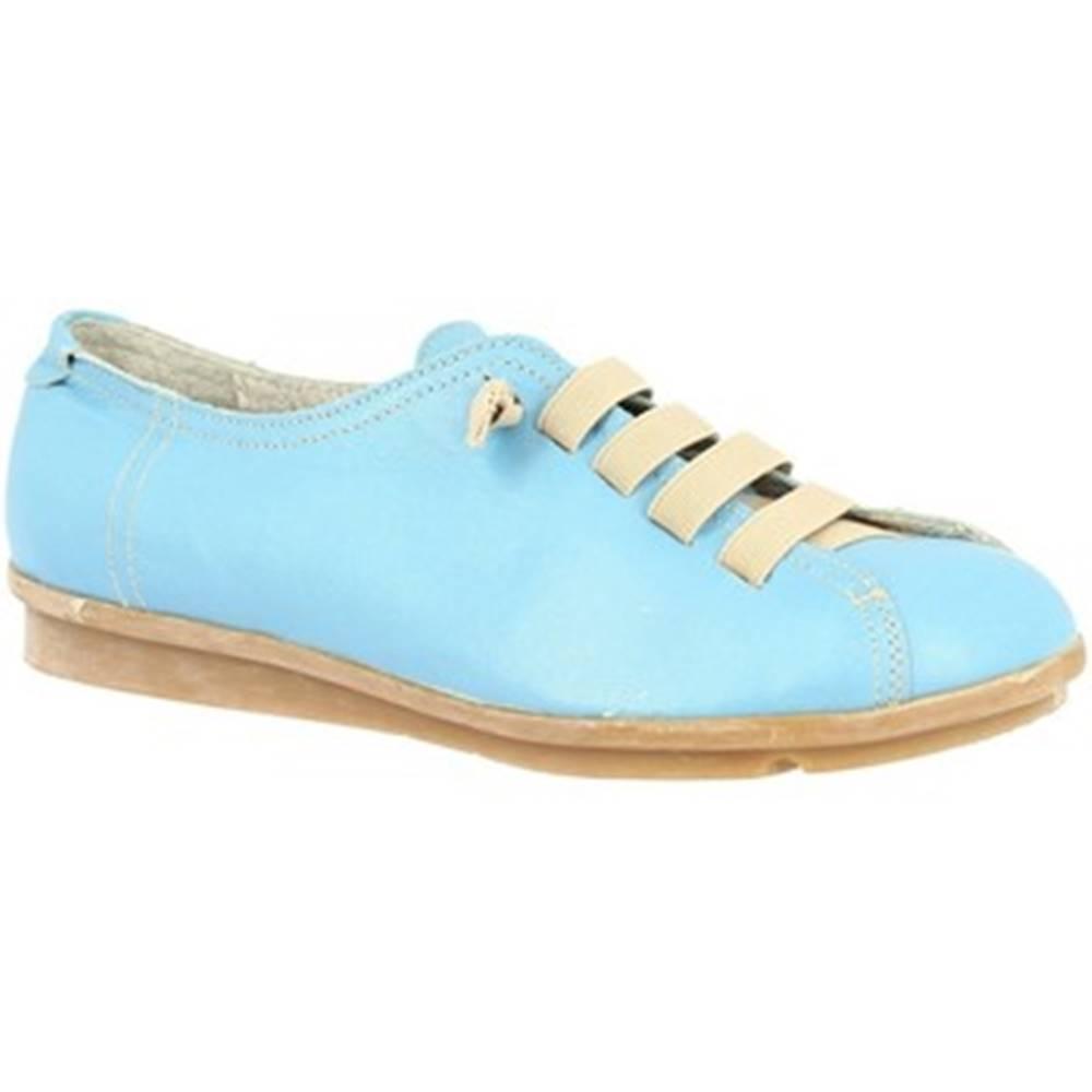 Leonardo Shoes Derbie Leonardo Shoes  1269 CELESTE