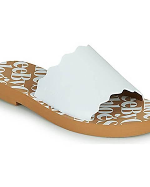 Biele topánky See by Chloé