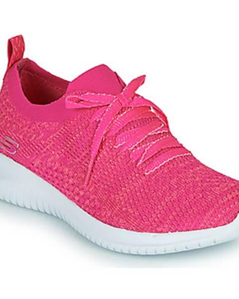 Ružové topánky Skechers