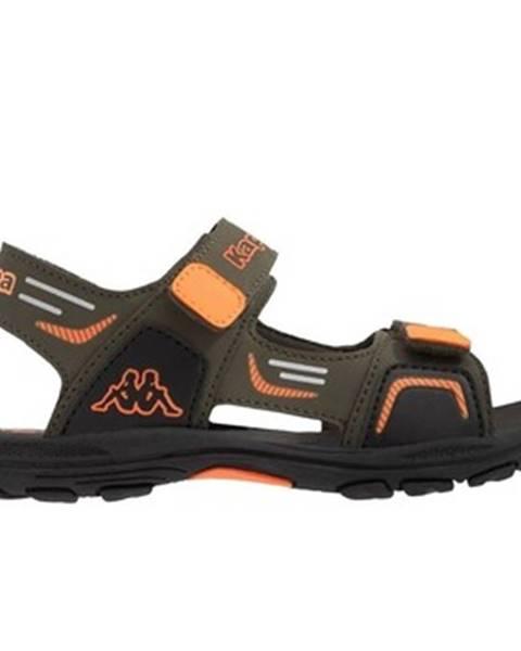 Viacfarebné sandále Kappa