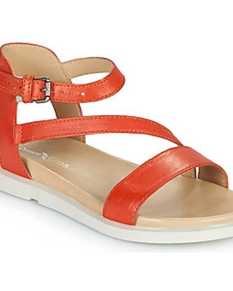 Oranžové sandále Dream in Green