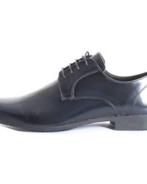 Modré topánky Paolo Da Ponte