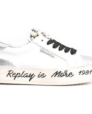 Biele tenisky Replay