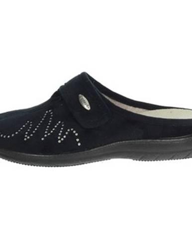 Čierne papuče Riposella
