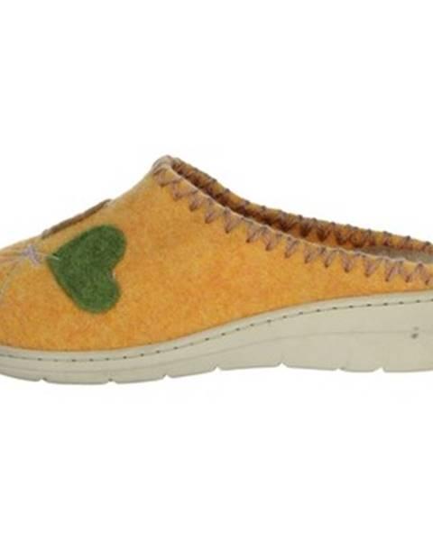 Oranžové topánky Riposella