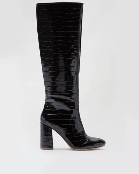 Čierne čižmy Dorothy Perkins