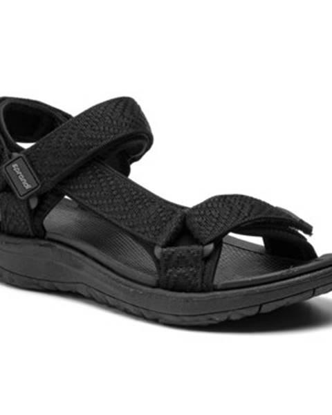 Čierne sandále Sprandi