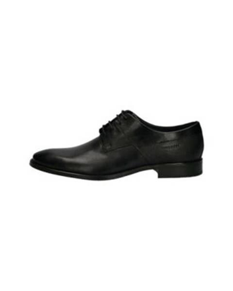 Čierne topánky Bugatti