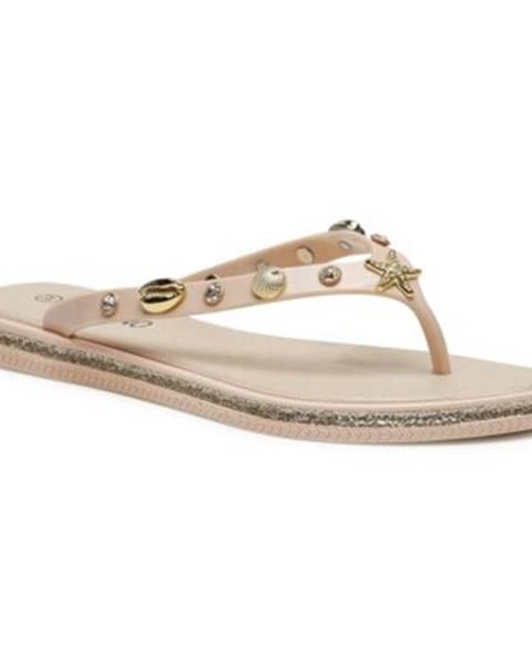 Béžové topánky Bassano