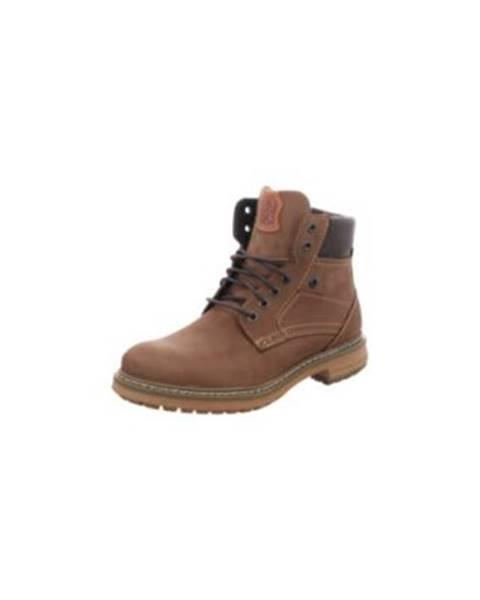 Hnedé topánky Fretz