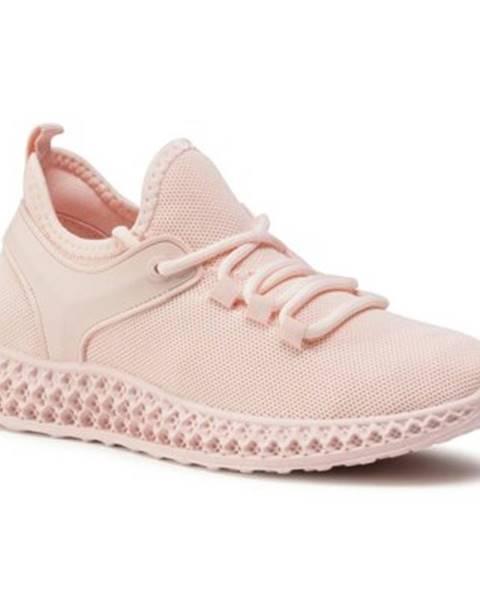 Ružové poltopánky DeeZee
