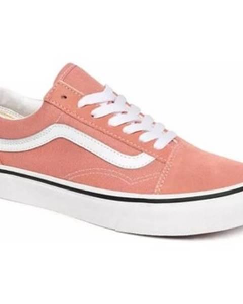 Ružové tenisky Vans