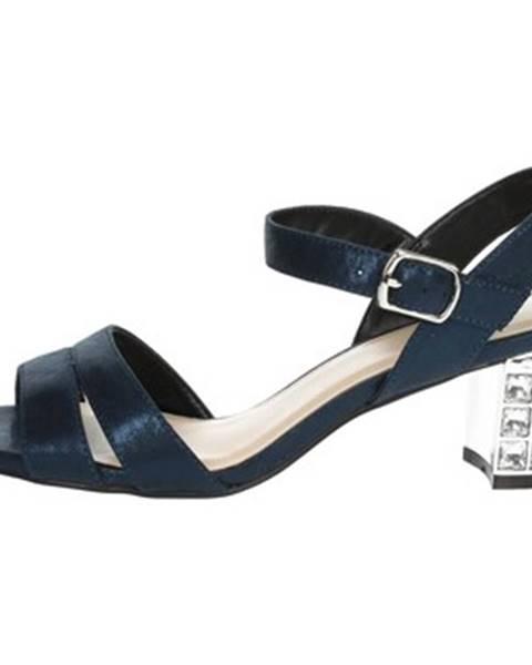 Modré sandále Menbur