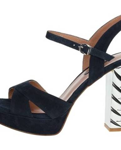 Modré sandále Luciano Barachini