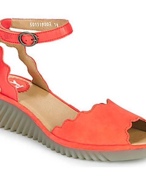 Červené sandále Fly London