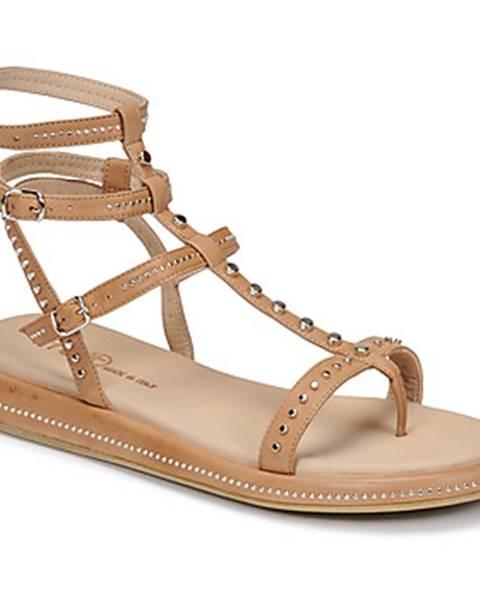 Béžové sandále Fru.it