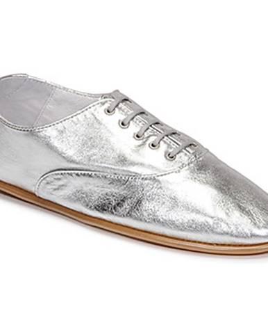 Strieborné topánky Pataugas