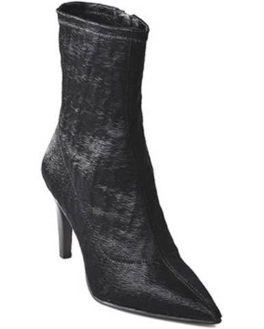 Čierne topánky Elvio Zanon
