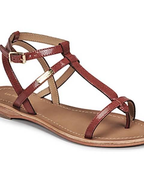 Červené sandále Les Tropéziennes par M Belarbi