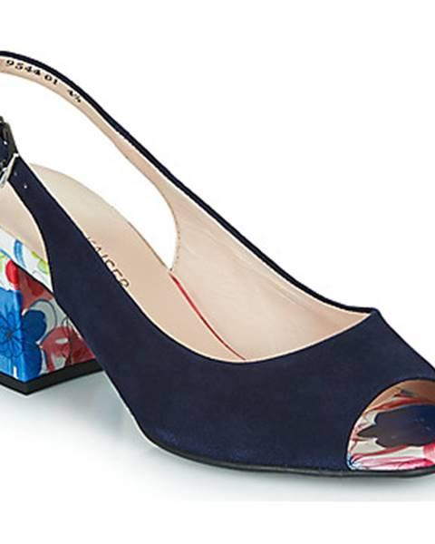 Modré sandále Peter Kaiser