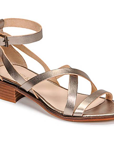 Zlaté sandále Casual Attitude