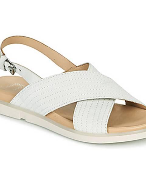 Biele sandále Mjus
