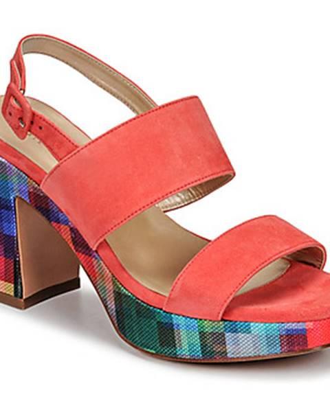 Oranžové sandále JB Martin