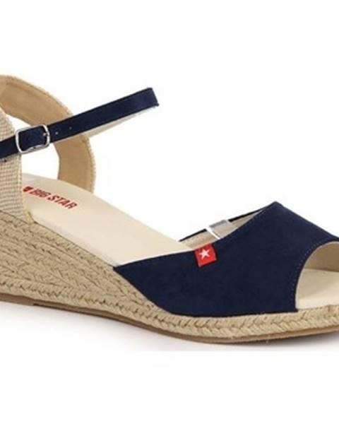 Viacfarebné sandále Big Star