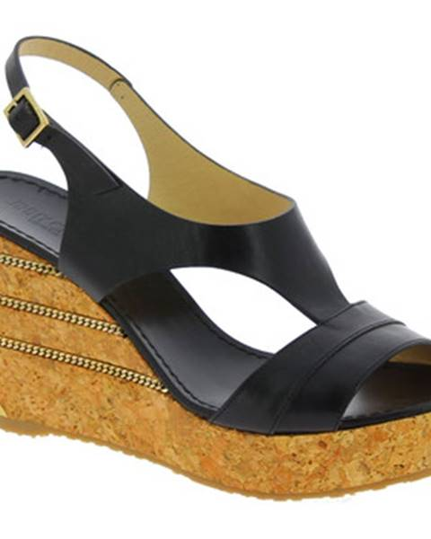 Čierne sandále Jimmy Choo