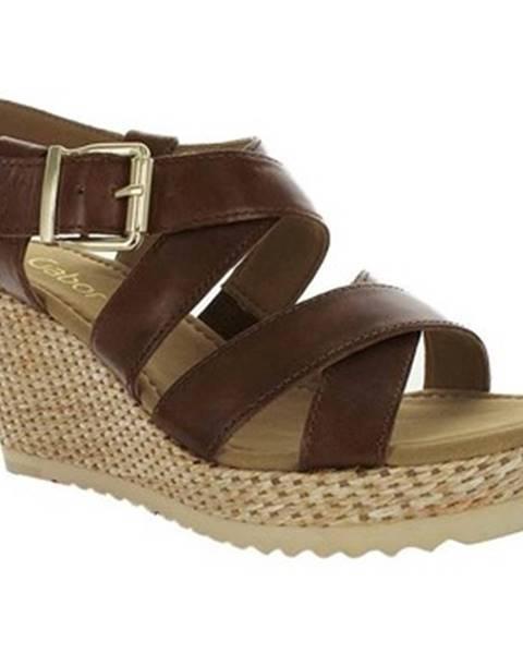 Viacfarebné sandále Gabor