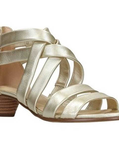 Zlaté sandále Clarks