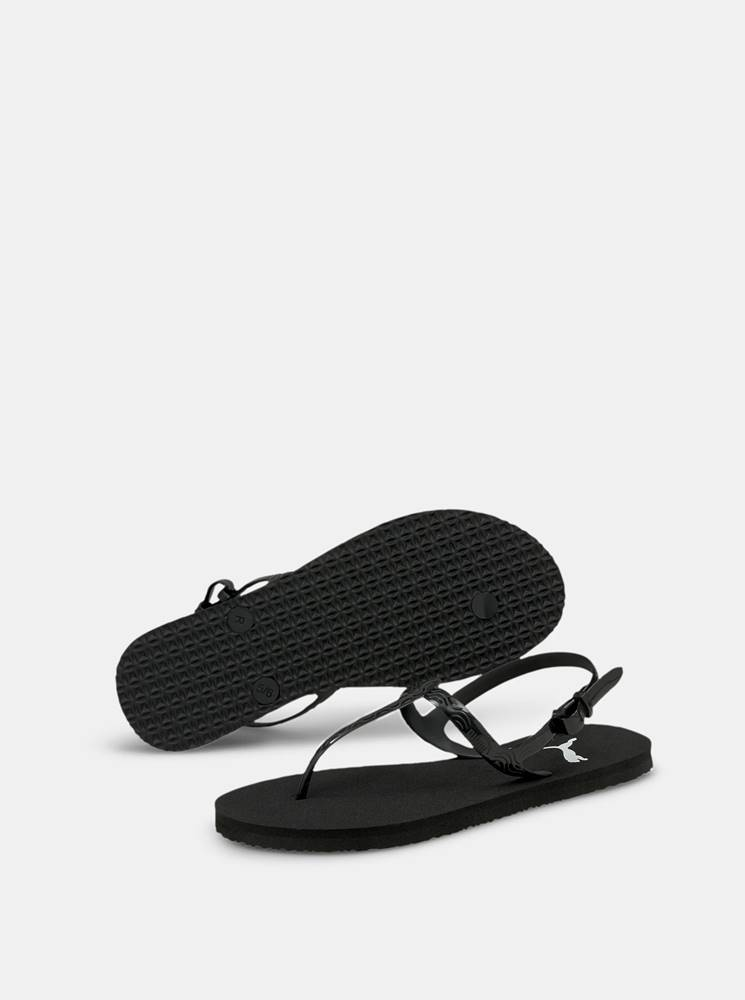 Puma Čierne dámske sandále Puma