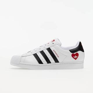 adidas Superstar Ftwr White/ Core Black/ Scarlet