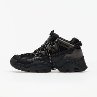 Low top sneaker Black