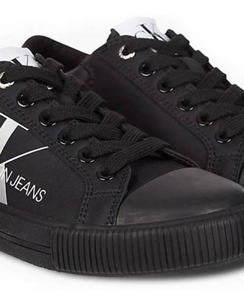 Čierne tenisky Calvin Klein