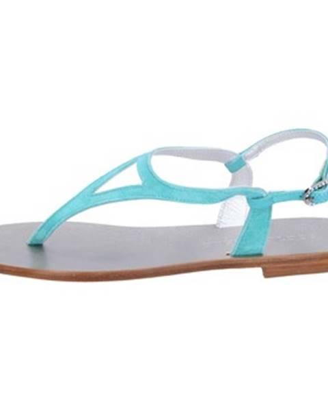 Modré sandále Eddy Daniele