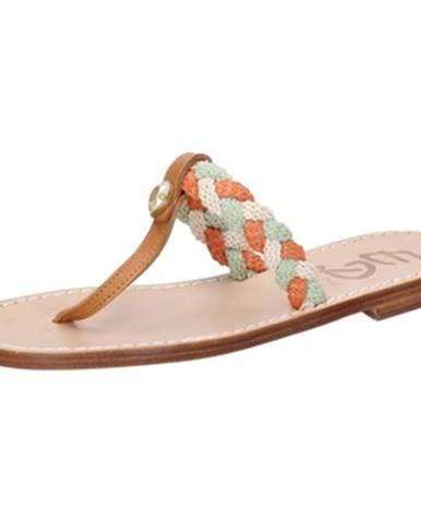 Viacfarebné sandále Eddy Daniele