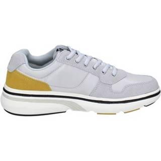 Nízke tenisky Lumberjack  sneakers grigio tessuto camoscio BT715