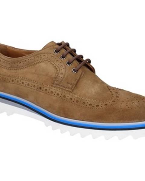 Hnedé topánky K852   Son