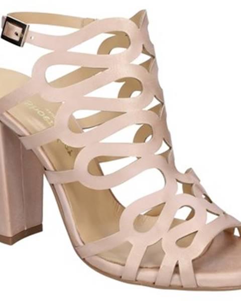 Ružové lodičky Shoemaker