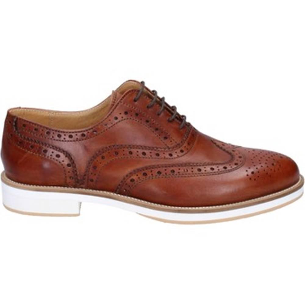 Ossiani Derbie Ossiani  classiche marrone (color cuoio) pelle BT849