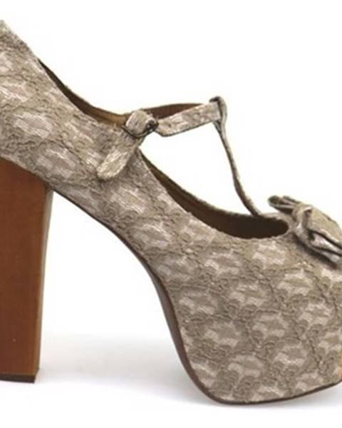 Biele sandále Jeffrey Campbell