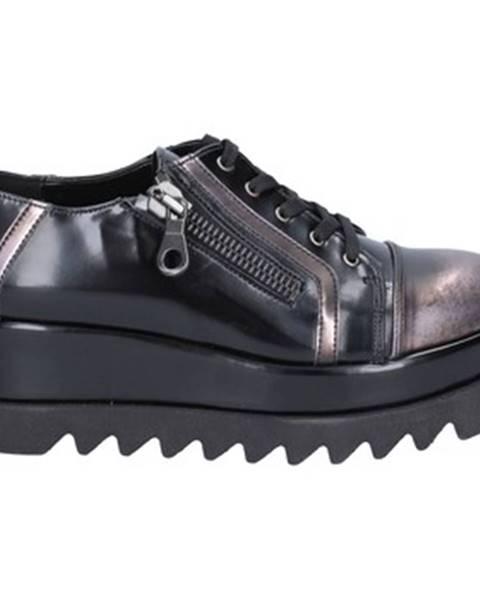 Čierne topánky Bottega Lotti