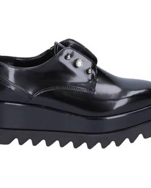 Čierne topánky Olga Rubini