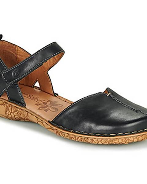 Čierne sandále Josef Seibel