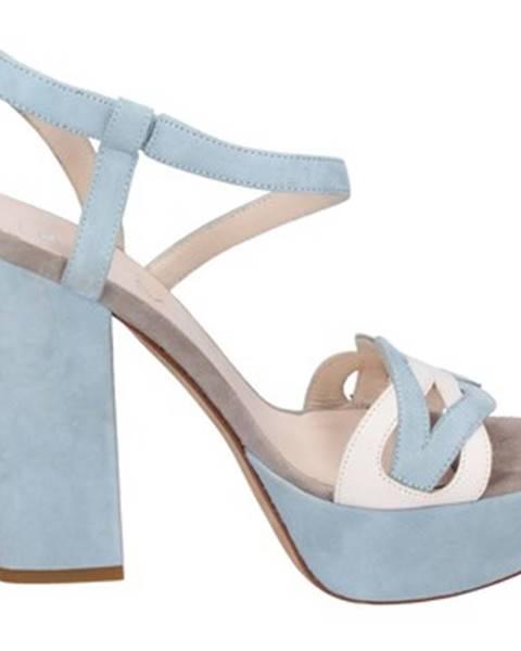 Modré sandále Lella Baldi